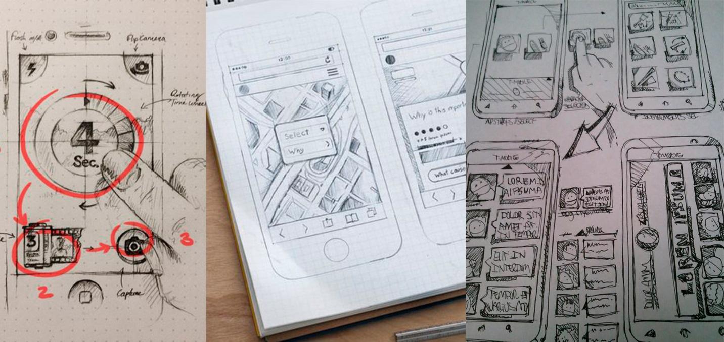 Доработка выбранного концепта дизайна интерфейсов приложений
