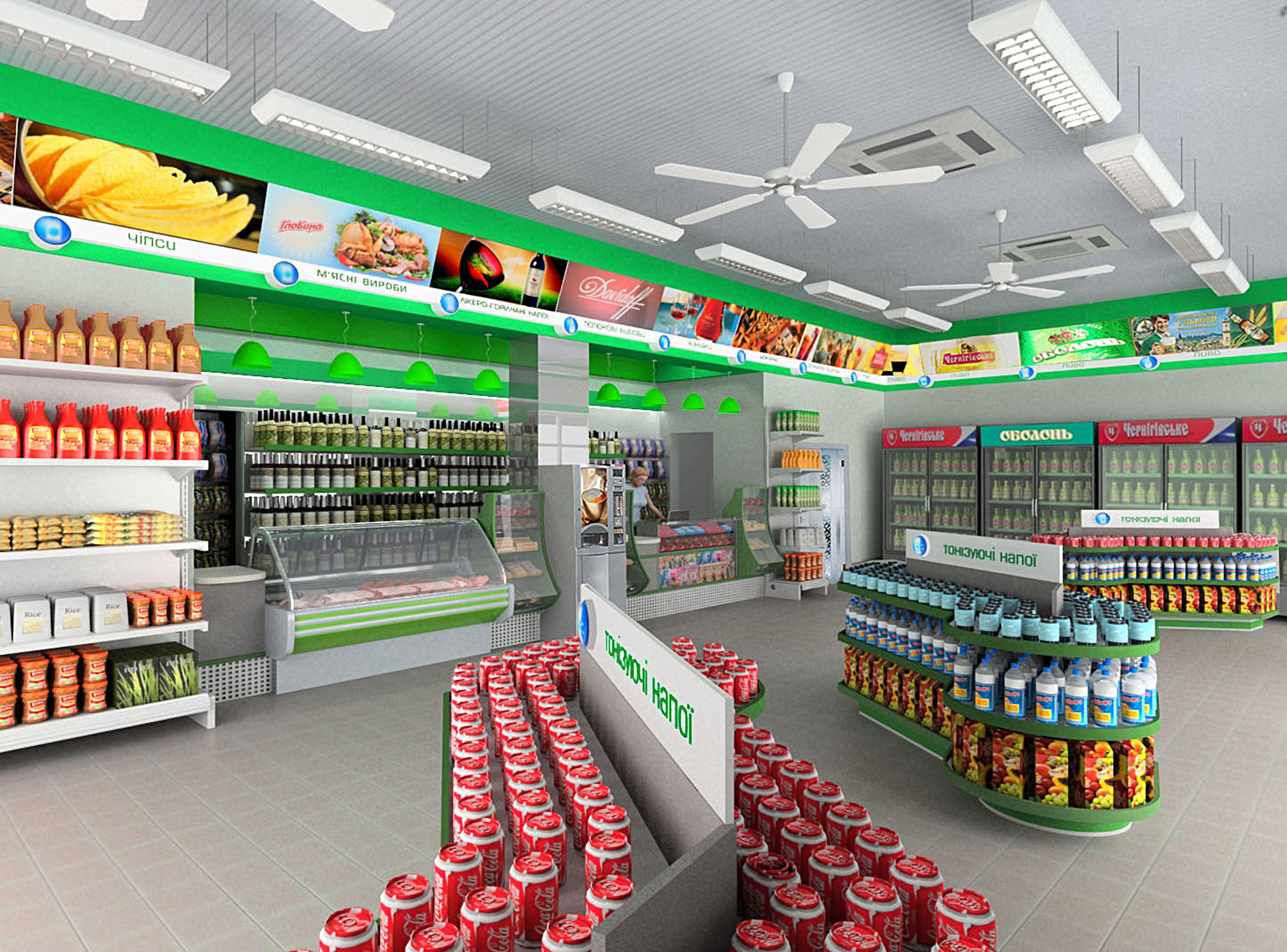 ccf66bcf557 Дизайн торгового зала и оформление витрин магазинов