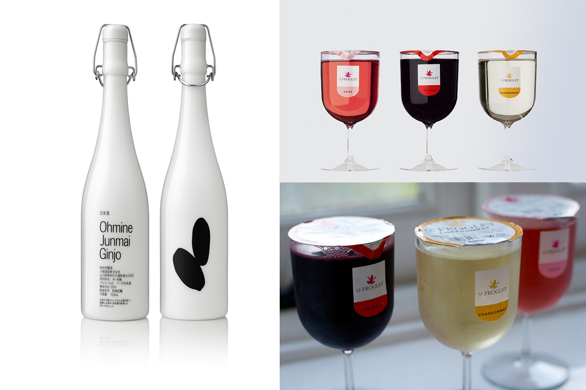 Дизайн винных бутылок
