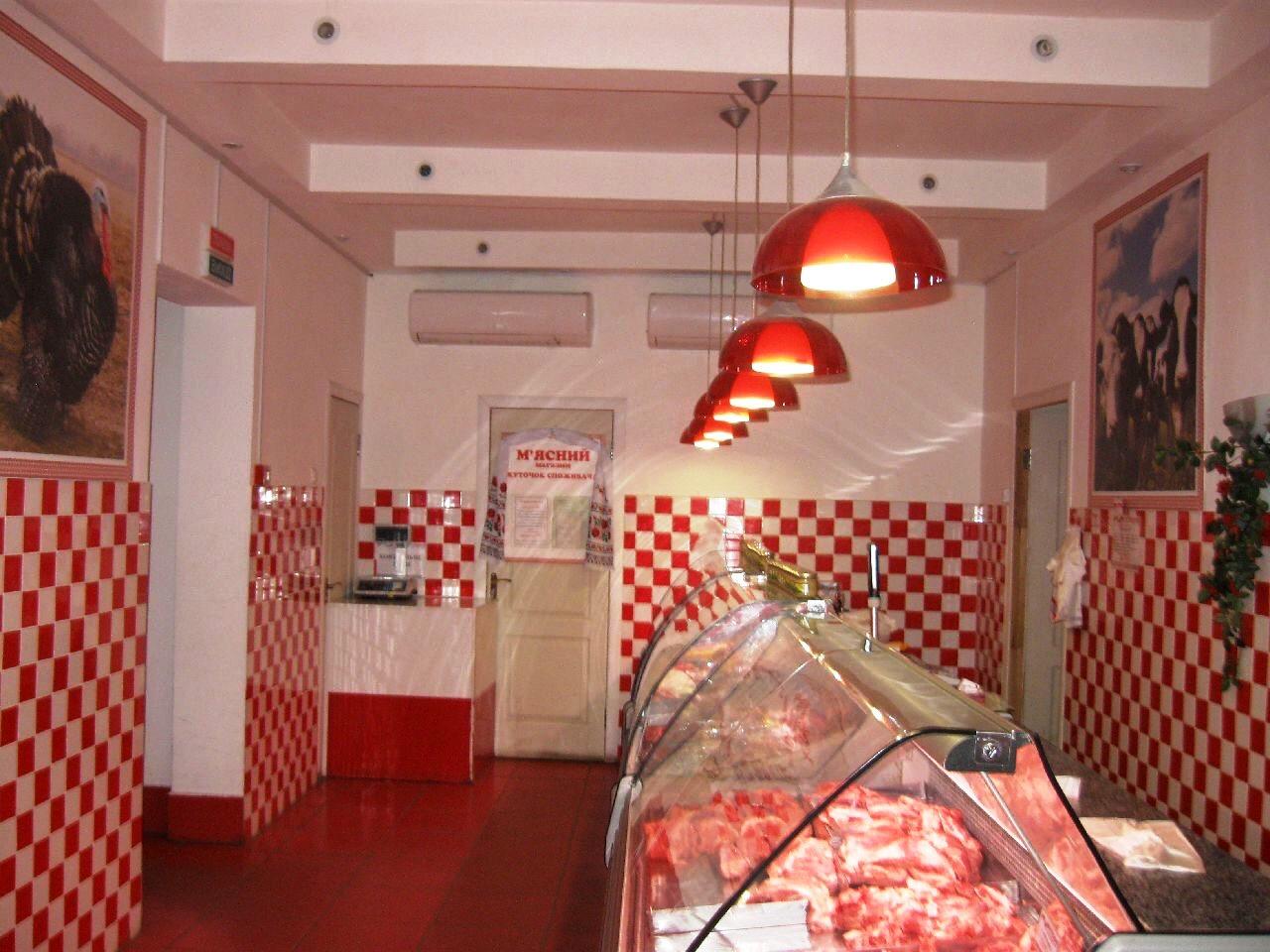 фото дизайн мясного магазина