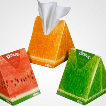 Салфетки Kleenex, искусство упаковки, креатив, стильная упаковка, новый дизайн упаковки, дизайн упаковки, студия упаковки, нестандартная упаковка, элитная упаковка, дизайнерская упаковка, идеи упаковки, оригинальная упаковка, функциональная упаковка, бренд, креативная
