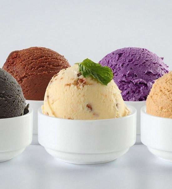 предпочтения по видам мороженого фото приклеивать получившиеся