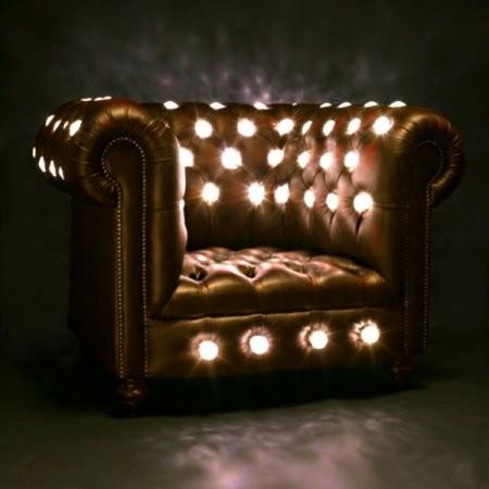 Кресло с подсветкой, дизайн, необычный дизайн, дизайн, design, interesting design, unusual design, interior design, furniture design, industrial design