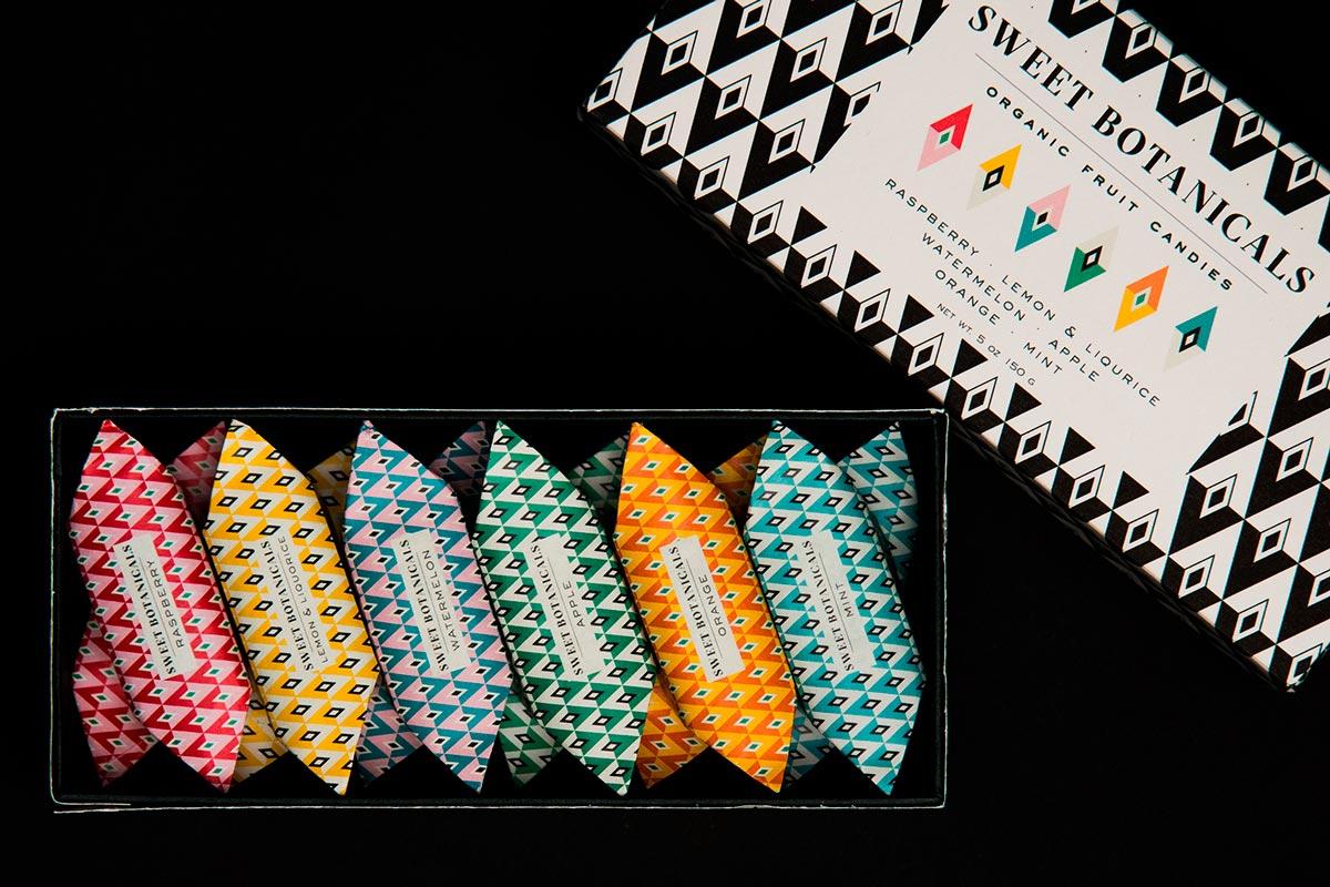 Дизайн обертки конфет
