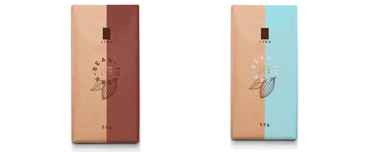 Пример дизайна упаковки конфет