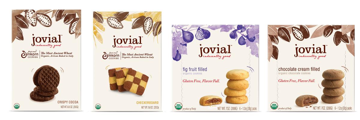 Упаковка печенья Jovial
