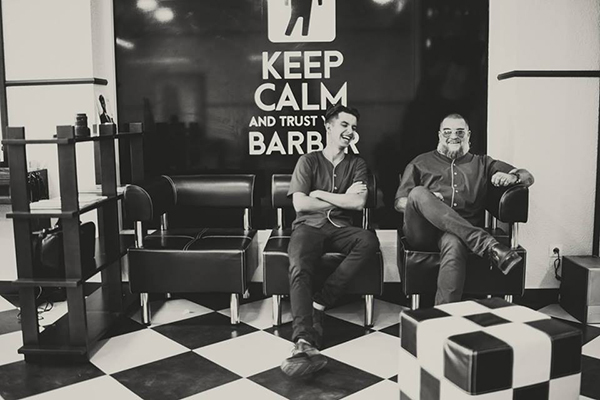 Интерьер True barbershop