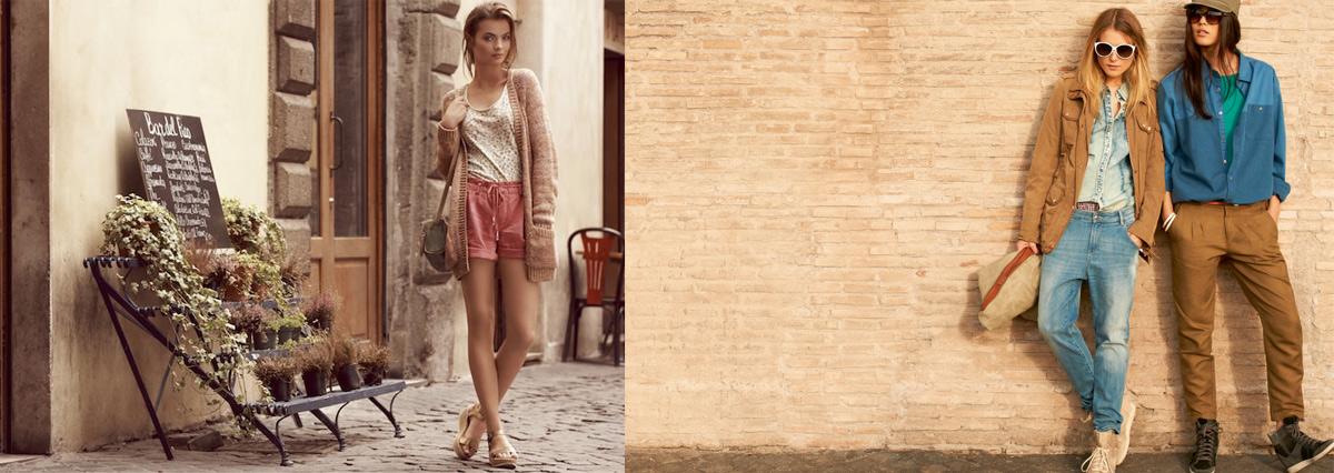 8d6649b402f Рекламные фото бренда одежды Esprit. Промо-фото рекламной кампании Esprit