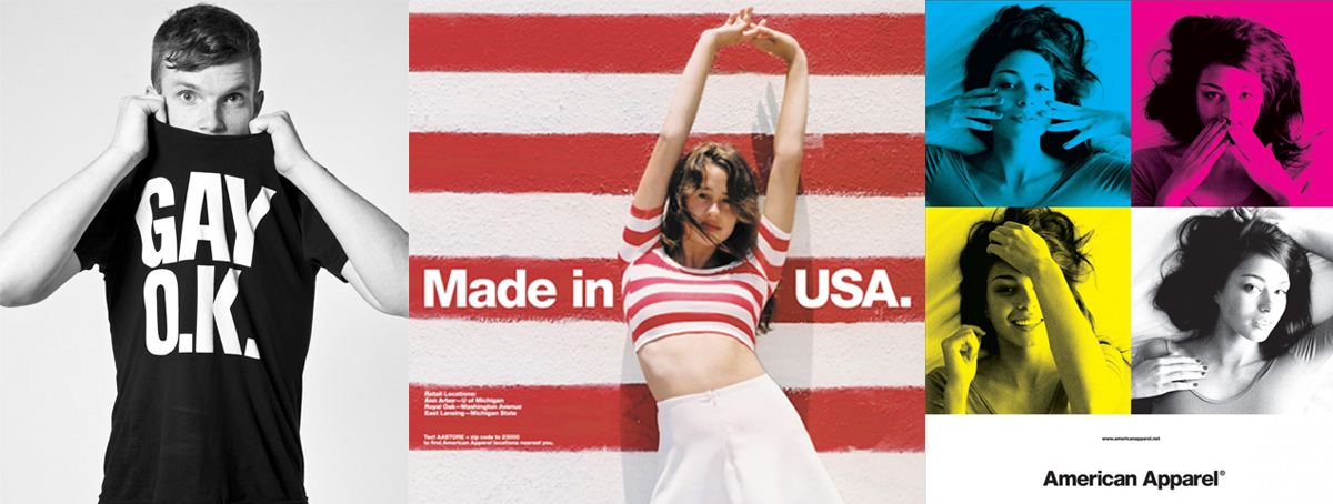 511e288c0cd Фото из промо-кампаний Рекламные плакаты American Aparel