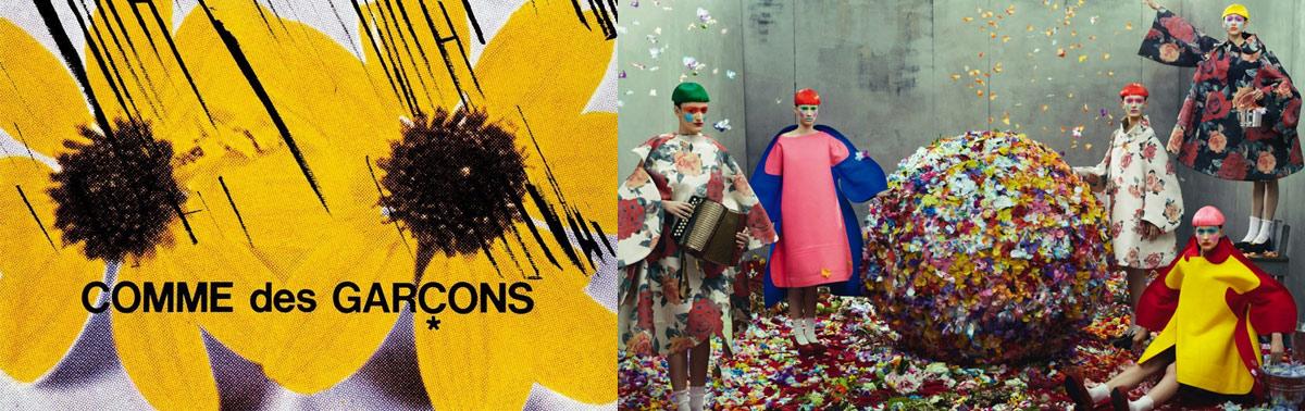 84f4bce17d9 Как назвать бренд одежды - пример Comme des Garcons. Промо-фото рекламной  кампании Comme ...