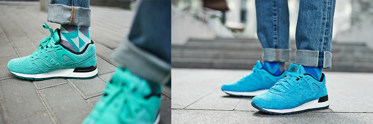 Коллаборация Sammy Icon и Saucony