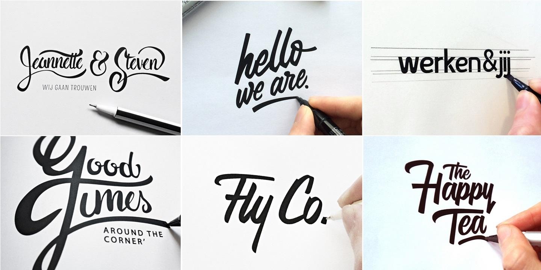 шрифт при создании логотипа