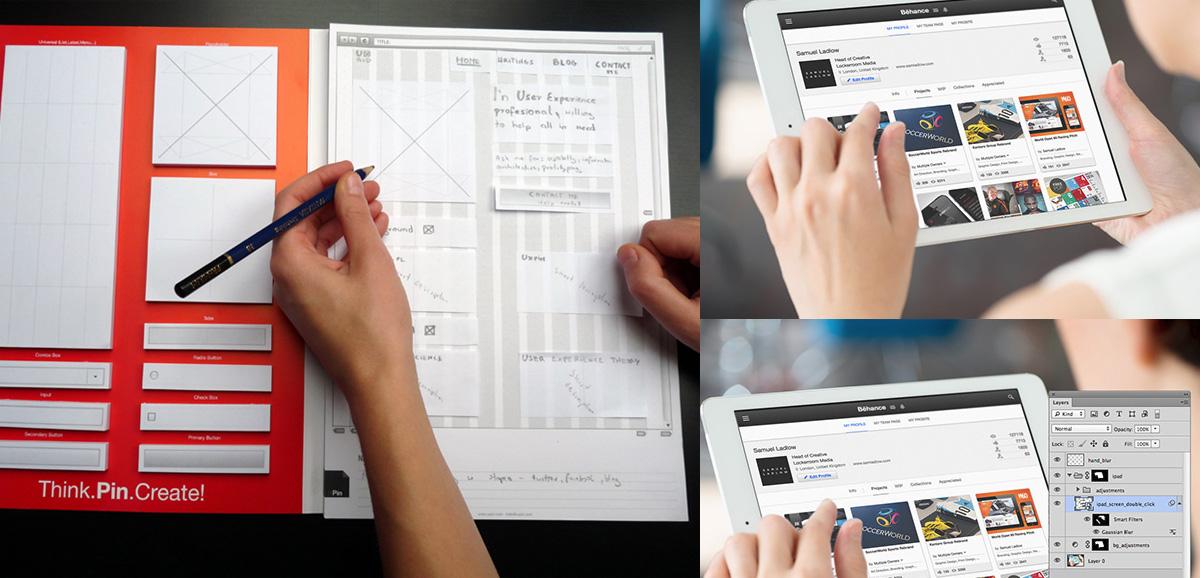 Дизайн сайта размеры макета