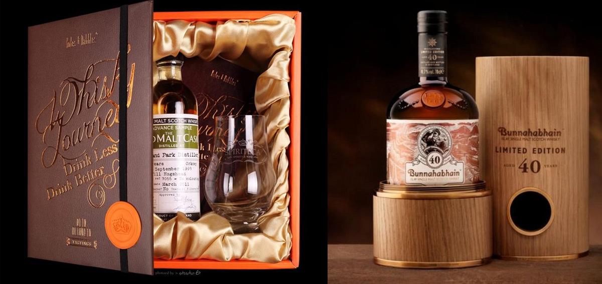 виски в подарочной упаковке