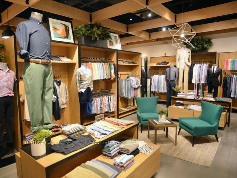 зонирование магазина одежды