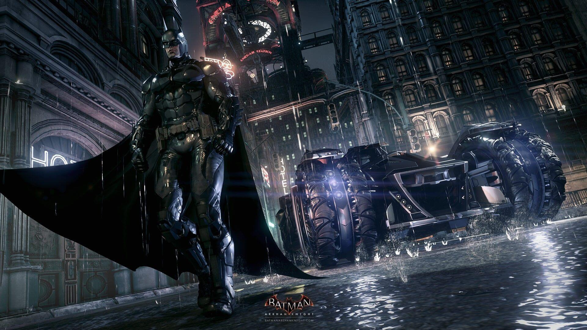 пример игры Batman: Arkham Knight с геймплеем