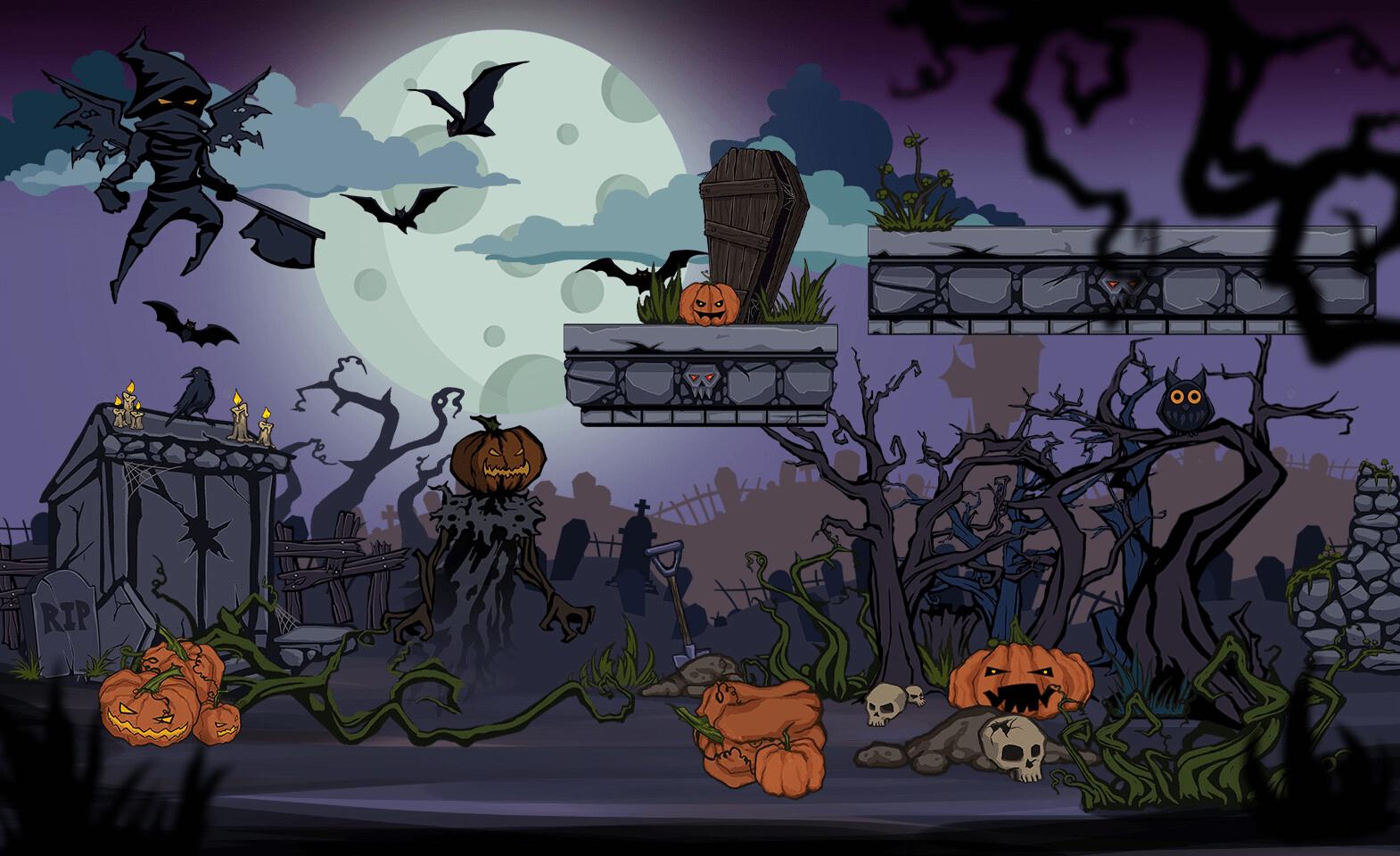 Анимация игры на Unity