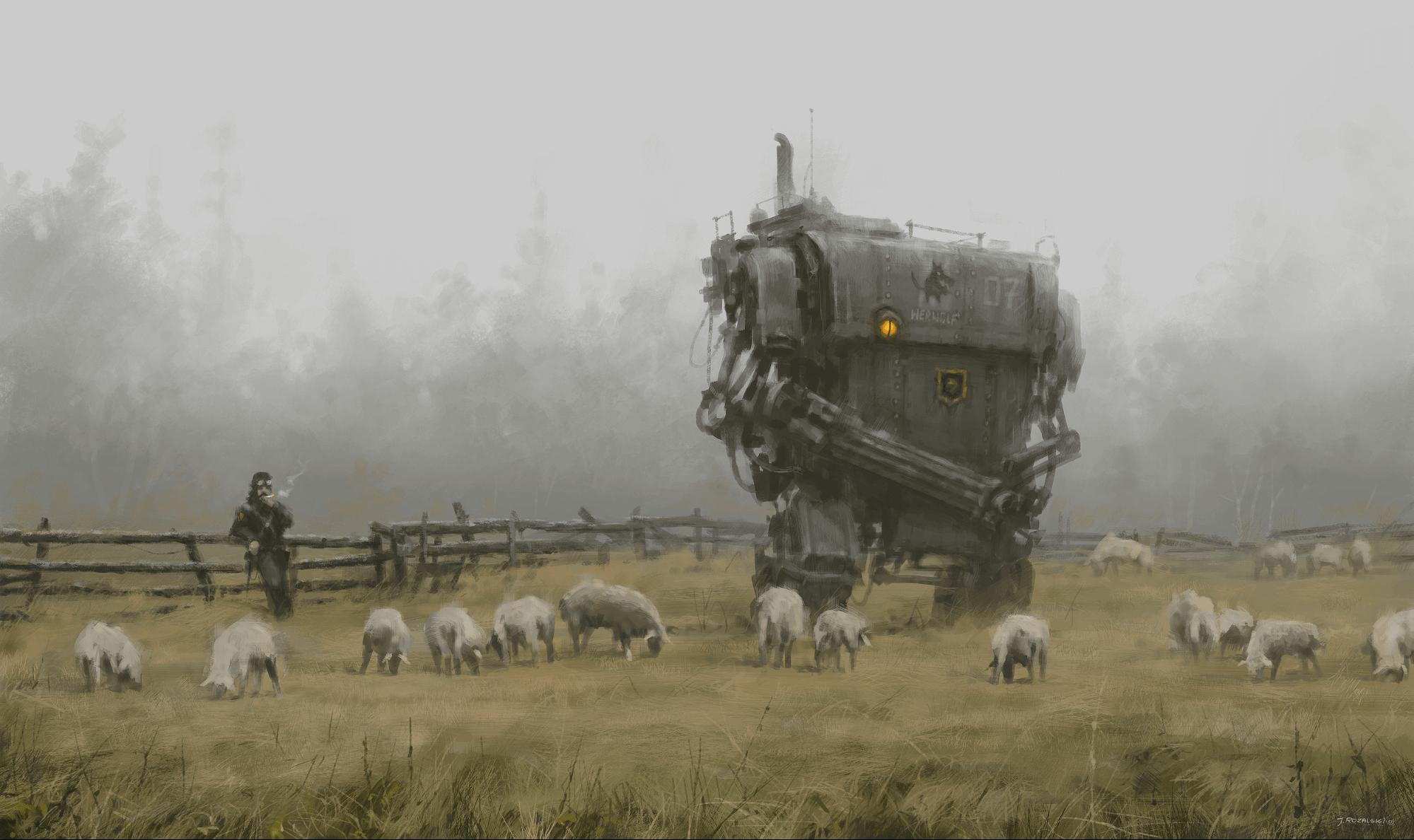 Идея игровой механики: войны роботов на паровой тяге
