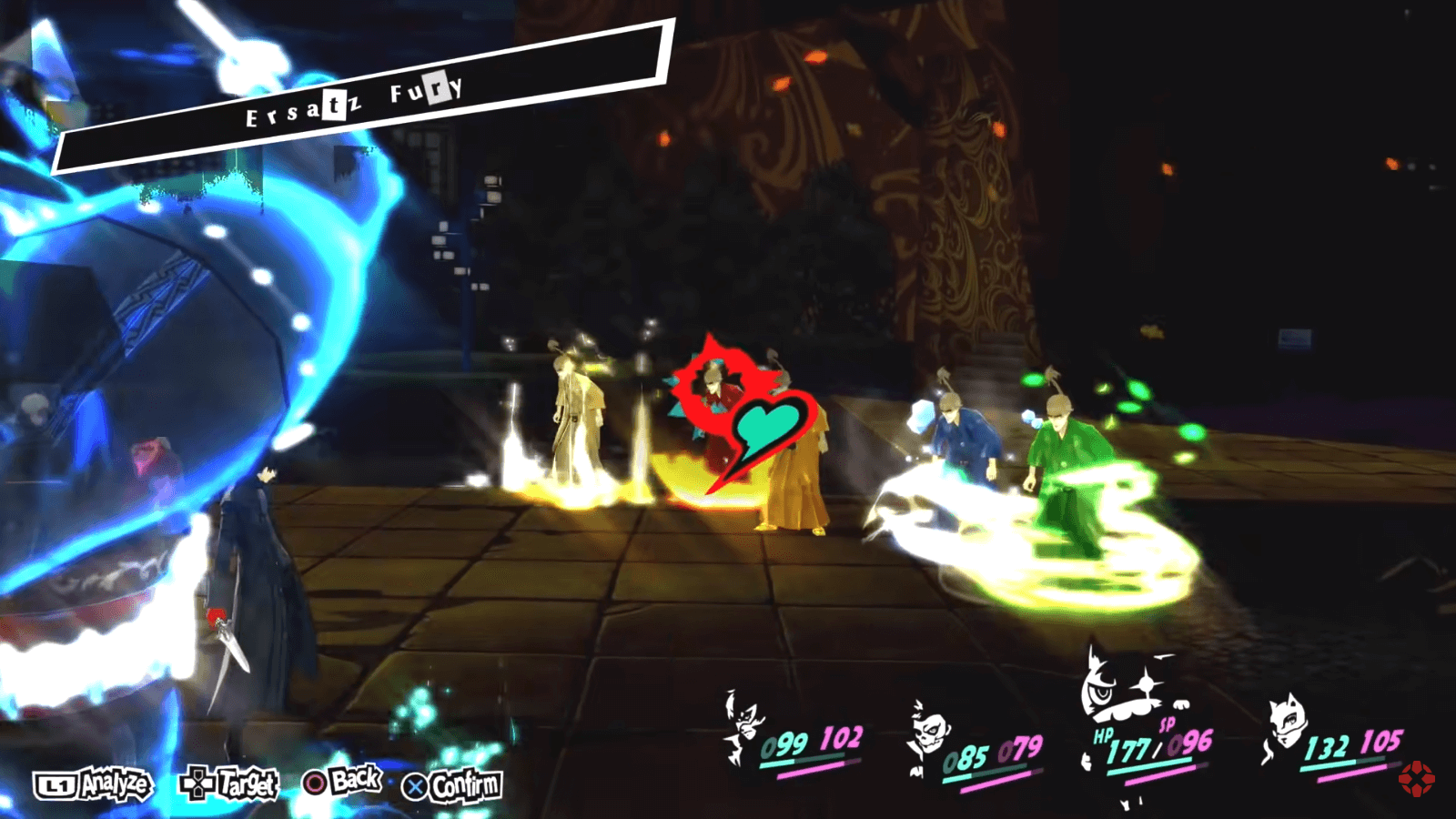 Persona 4: игровая механика включает развитую систему диалогов, исследование мира и пошаговые бои