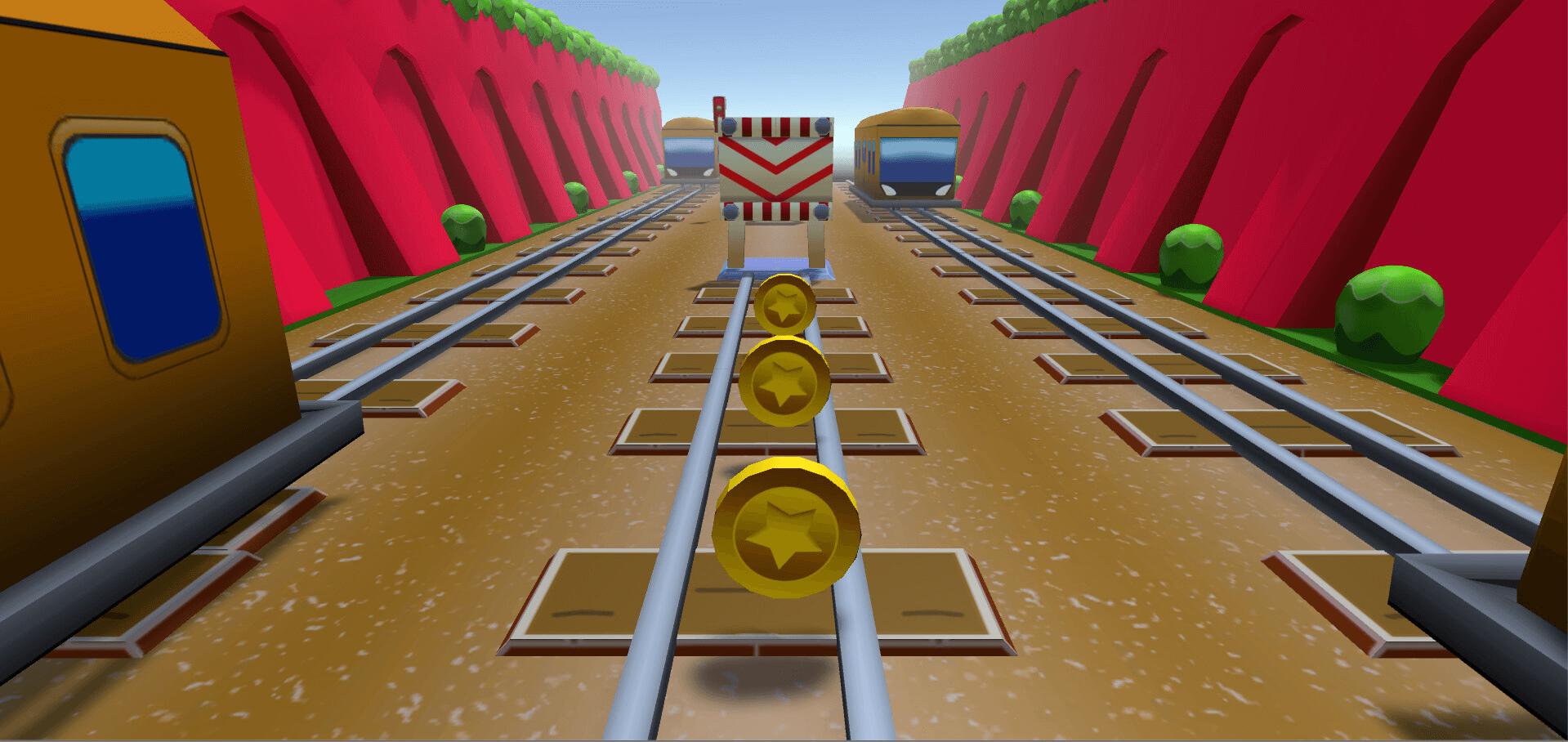 У игрока на выбор три механики: прыгнуть, проскользить или увернуться от препятствия