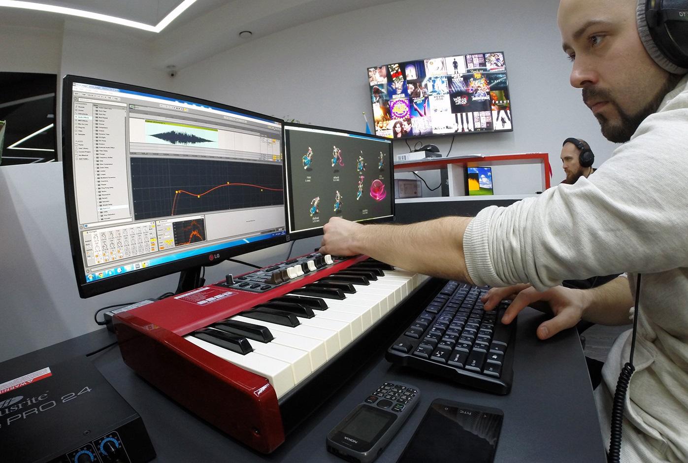 Sound design игры
